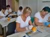 začátek praxe - nácvik na pomeranči